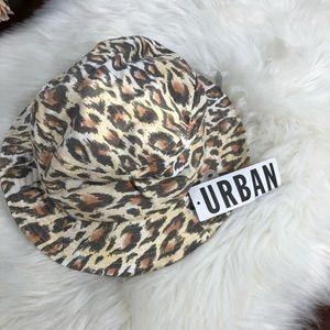 UO Leopard Print Bucket Hat